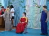 Сценка из пасхального спектакля в Некрасовском интернате