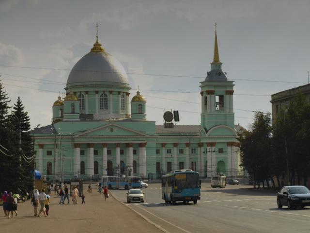 В городе Курске