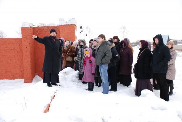 Иерей Игорь Чистюхин рассказывает об истории города Болхова