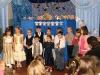 Выступление хора младшей группы воспитанников воскресной школы